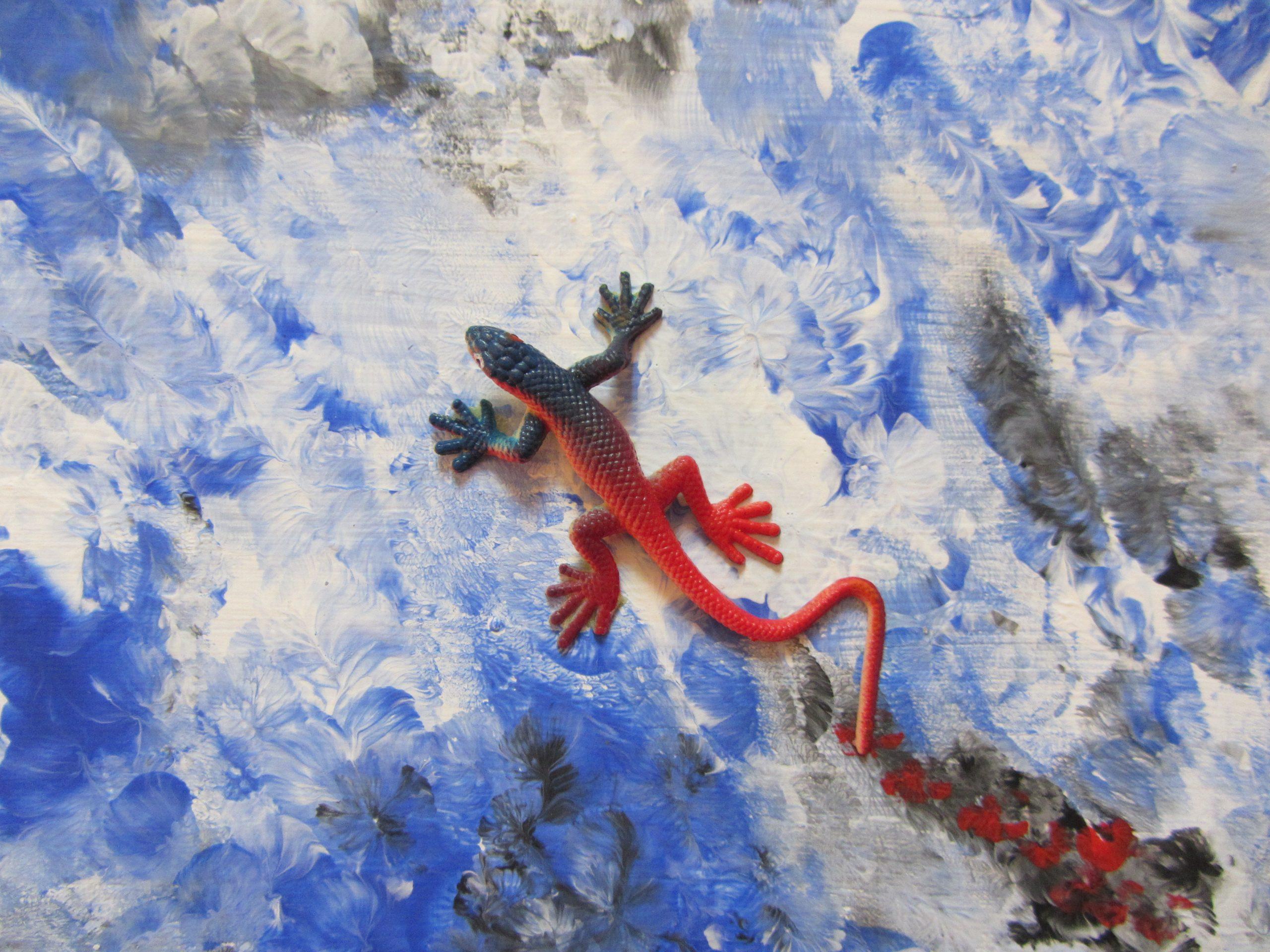 Dorina Del Mar gestaltet Kunst